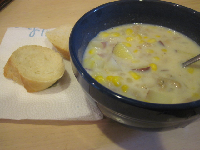 New England Clam and Corn Chowder #2